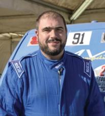 Nicolas Catarino, pilote AMVI compétition