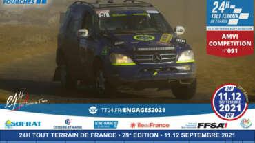 amvi competition engagé pour les 24h tout-terrain de France 2021